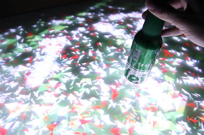 Heineken Interactive Bar   StewardessLollipop U2014 The Work Of Philip Sierzega  U2014 Interactive Design Direction U0026 Animation