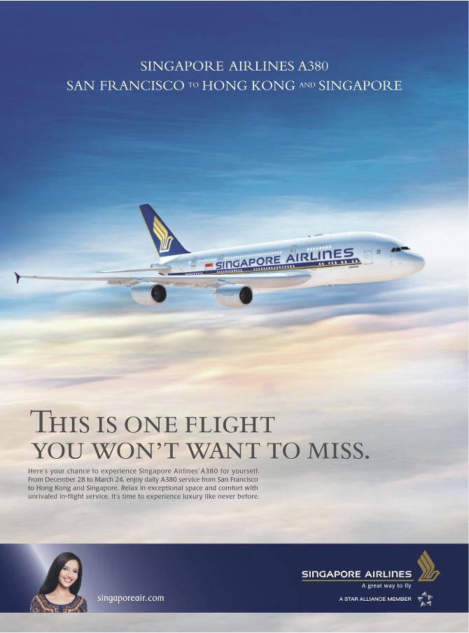 Nissan San Diego >> Singapore Airlines - Emily Rosen